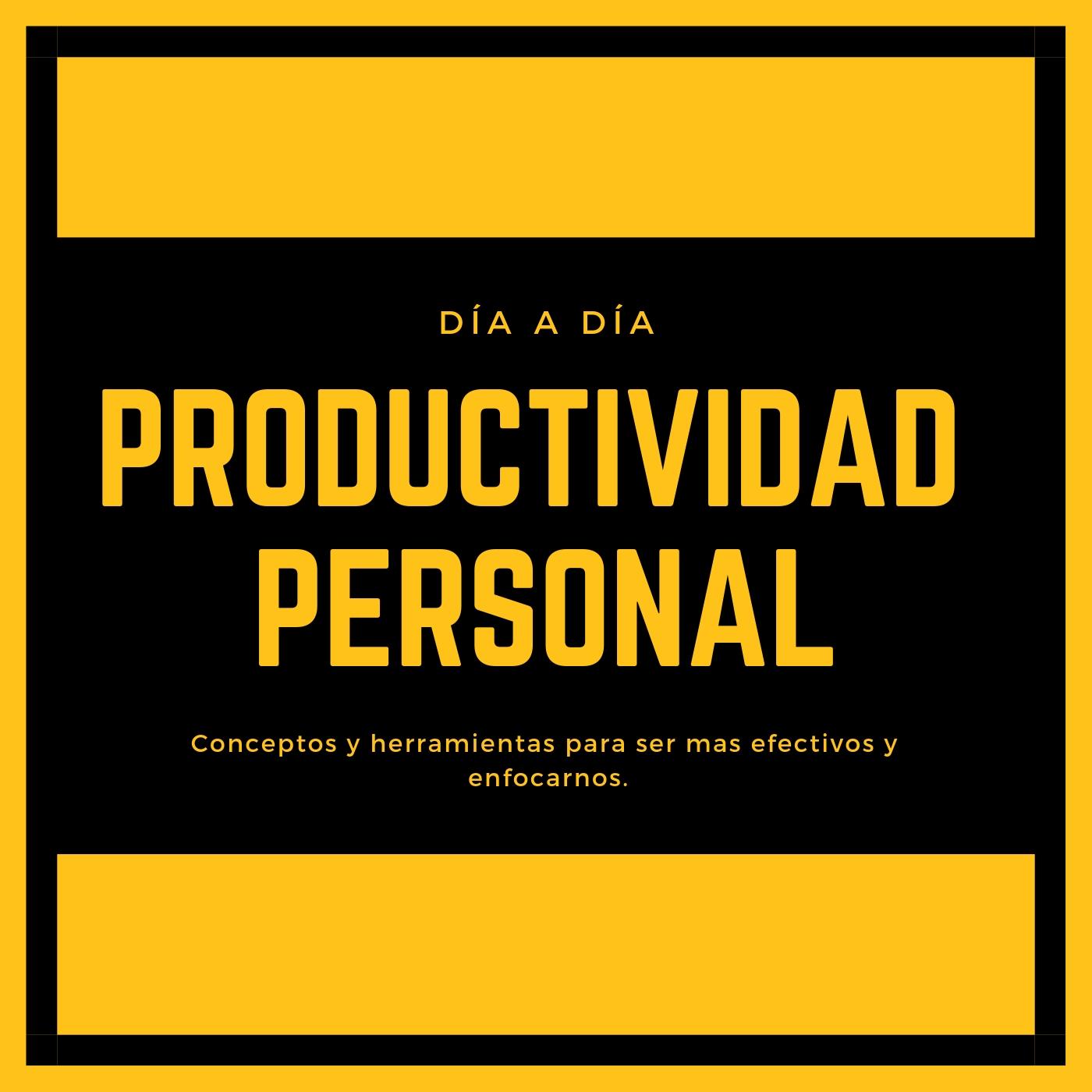 Productividad Personal Día a Día