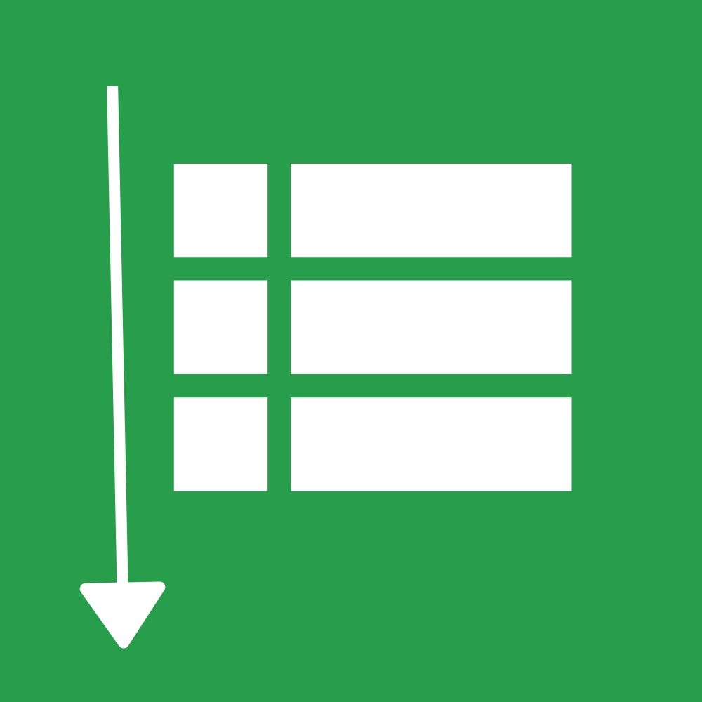 lista desplegable ordenada en google sheets